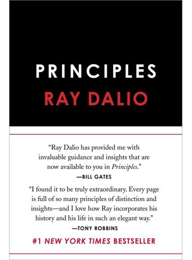 Principles: Life and Work by Ray Dalio. 2017